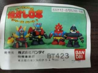 80s Bandai Q版 超級機械人扭蛋 鉄人28 Popy