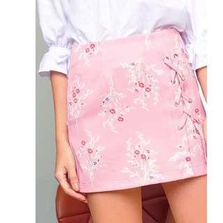RTP$39.90 BNWT Purpur Rosalie Lace-Up Skort Blush