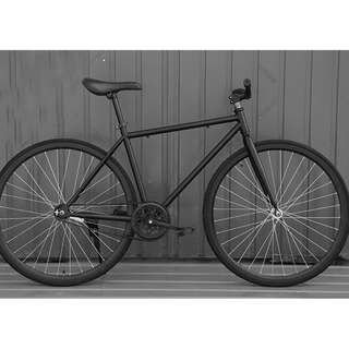 🚚 Full black coaster fixie with free delivery