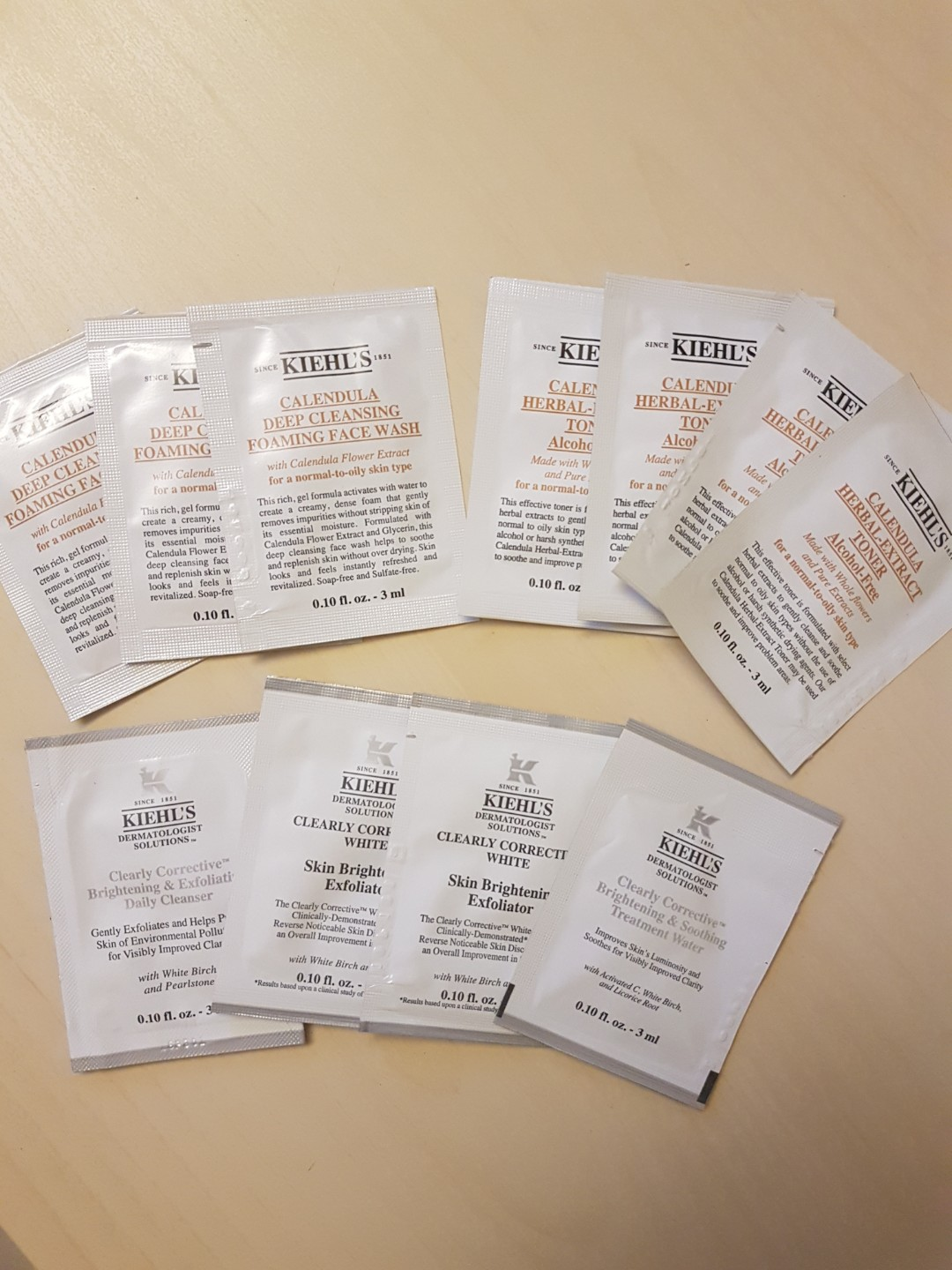 1 Each Kiehls Skincare Samples Health Beauty Face Skin Care Brightening Exfoliator 25ml Photo