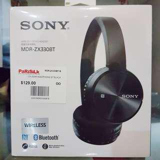 [BRAND NEW] Sony Wireless Stereo Headset (MDR-ZX330BT)