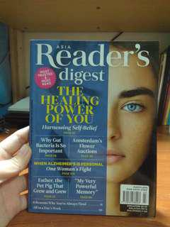 Reader's Digest March 2018