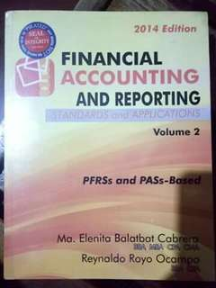 Financial Accounting Vol. 2 By Cabrera