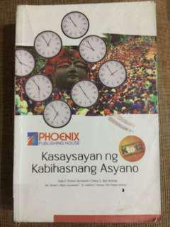 Kasaysayan ng Kabihasnang Asyano  grade 7(phoenix)