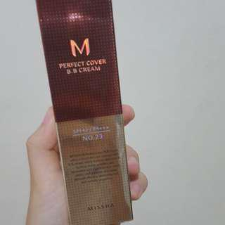 Missha bb cream no 23 natural beige