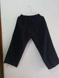 Celana panjang Hitam Pria Anak  Sekolah