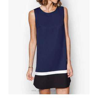 🚚 Colour Block Dress