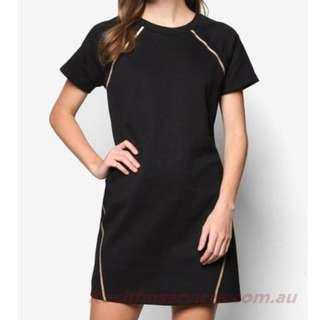 🚚 Copper Foil Cotton Dress