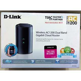 DLINK DIR-850L AC1200 Router - Retail Firmware
