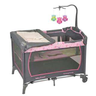 nursery centre babytrend網床
