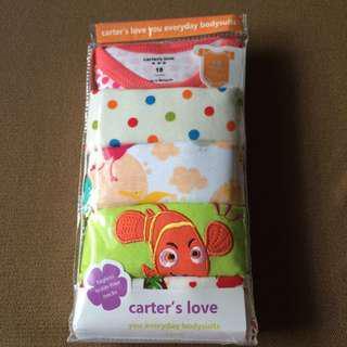 🚚 美國 Carter,s 短袖 嬰兒包屁衣