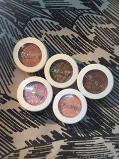 5 Colourpop Super Shock Shadows