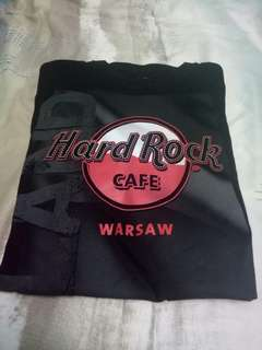 Hard rock cafe flagtee warsaw new with tag
