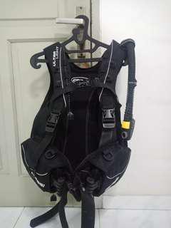 Bcd scuba diving cressi ultralight uk. M
