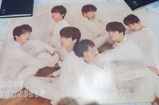 BTS Love Yourself Tear Official Poster (U version)