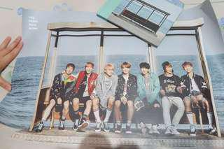 BTS YNWA Official Poster (Mint Version)