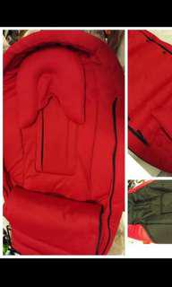 Bugaboo cacoon red
