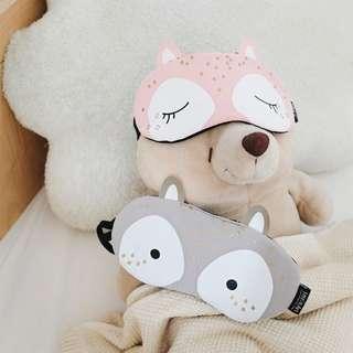Starry Animal Sleeping Mask