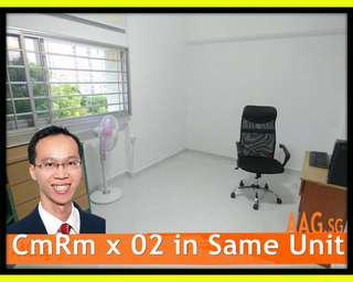 2 Common Rooms in Same unit! <<285 Bukit Batok West Ave 8 >>