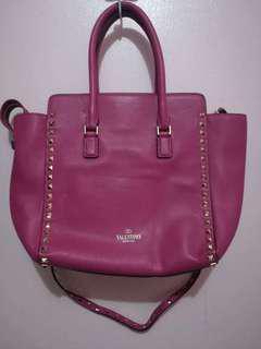 Valentino Fuschia Pink Bag