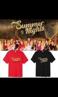 Twice summer night shirt