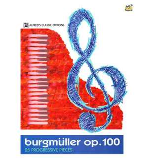 Burgmuller Op.100 25 Progressive Pieces (Alfred's Classic)