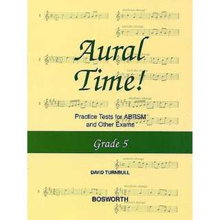 Aural Time! Grade 5 Practice Tests for ABRSM Exams