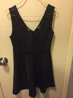 💥NEW H&M Lace Black Dress