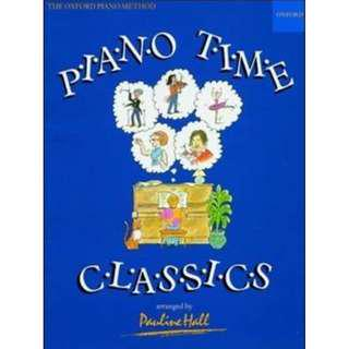 Piano Time Classics arranged by Pauline Hall for Piano