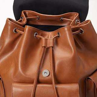 Forever21 Leather Backpack