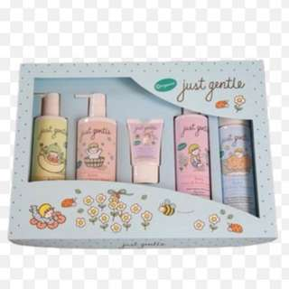 🚚 Baby hair and body wash gift set from Just Gentle Organic
