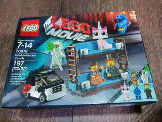 Lego Movie Double Decker Couch with Figures 70818