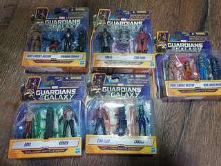 Guardians of the Galaxy GOTG Figures Full set
