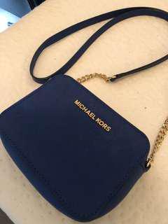 Michael Kors navy mini bag. Excellent condition!