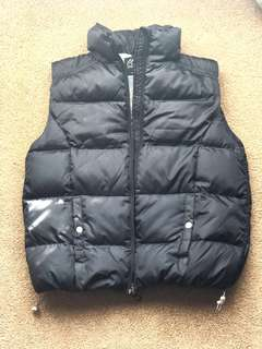(NEW) Lined down feather vest Outdoor Expedition
