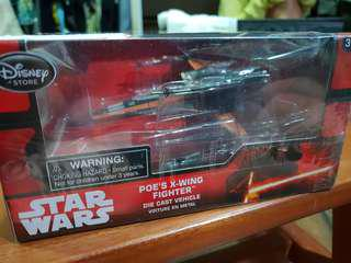 Star Wars Die Cast Poe X Wing Fighter