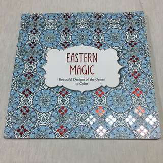 Eastern Magic: Beautiful Designs of the Orient Coloring Book for Adults (Color Magic)