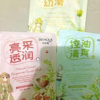 (Take all) Bioaqua F series sheet mask