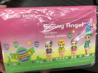 Opened Box Sonny Angels Easter Series