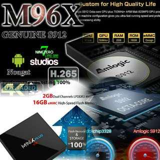 Android Tv Box M96X Plus S912 2G/16GB