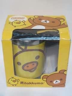 鬆弛熊 黄色豬鼻小雞水杯