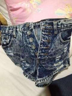 Hotpants punny jeans