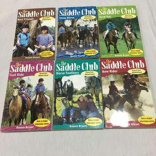 The Saddle Club Book Sets