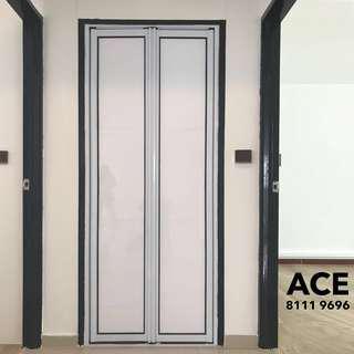 Aluminium Bifold Door complete with installation
