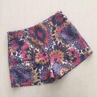 Highwaist pants / flowery pants