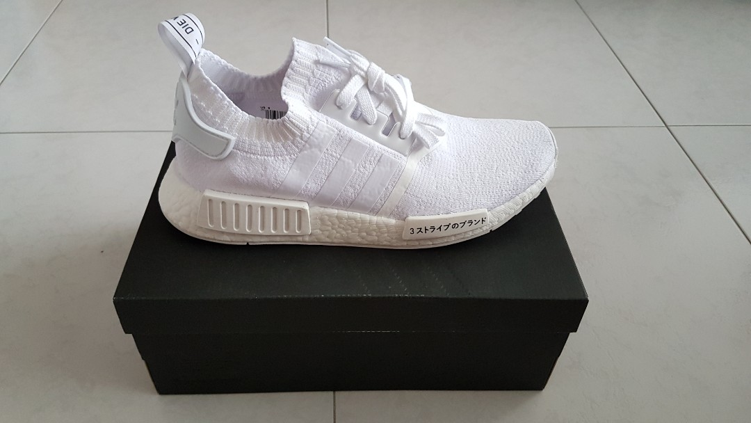 49c33aad3 Adidas NMD R1 Triple White Japan