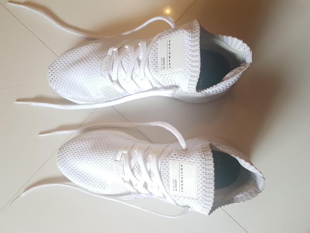 new product 3aeba c6792 Adidas original EQT Support ADV Primeknit Trainers in White ...