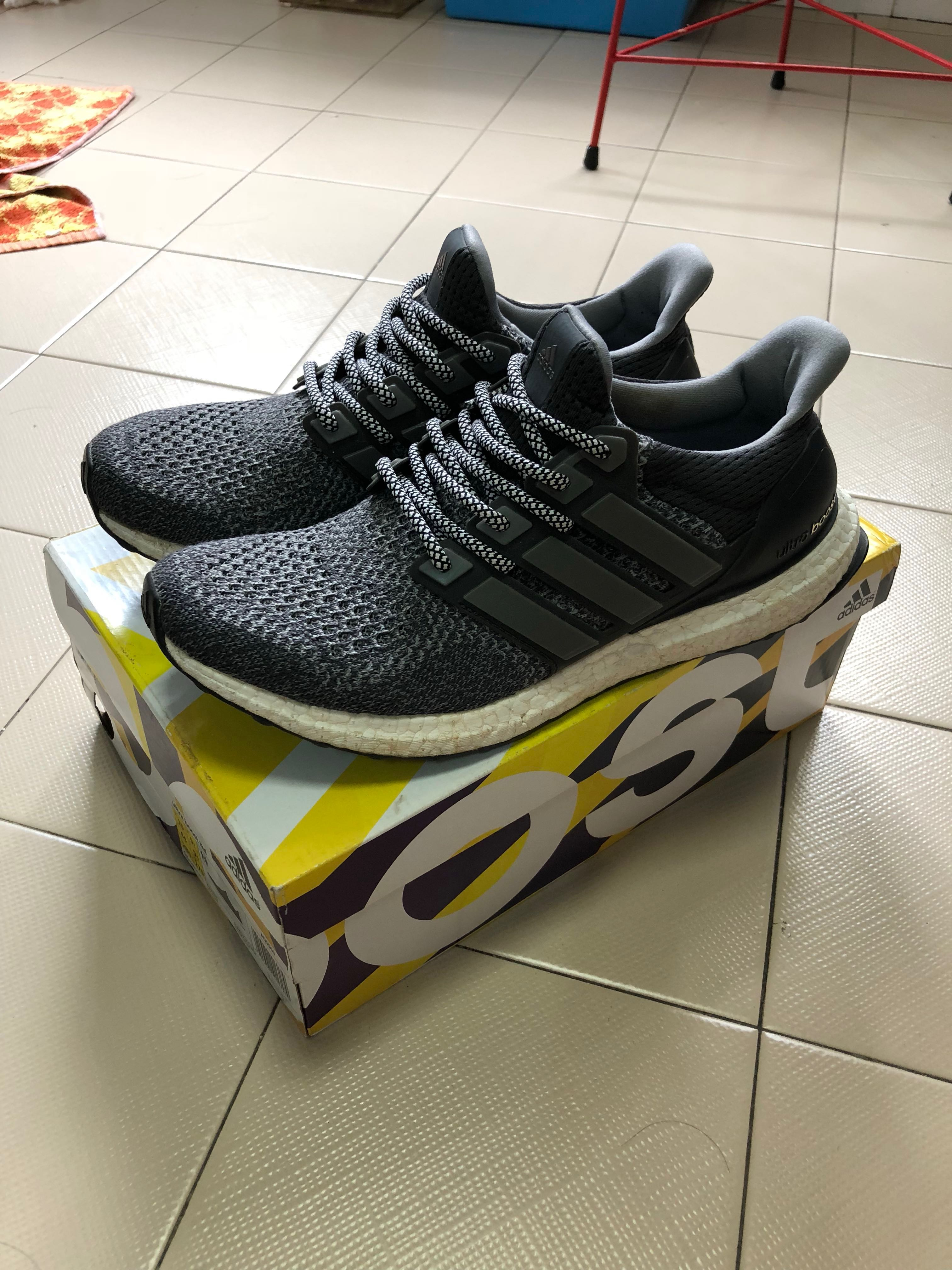 42837550f23 Adidas Ultra Boost 1.0 mystery grey US10