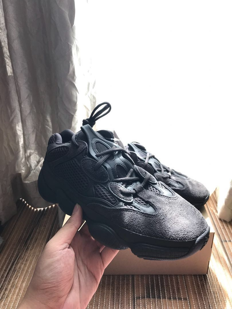 71a6e7e91c5eb Adidas Yeezy 500 Utility Black