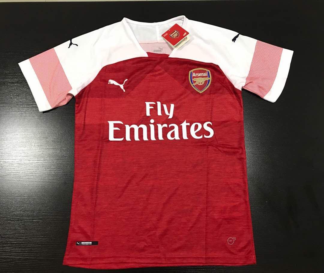 b6331c3a9 Arsenal Home Jersey 18 19